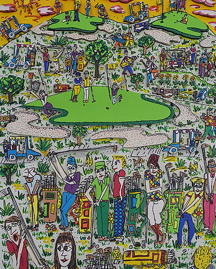 ジェームス リジィ Too many people playing GOLF